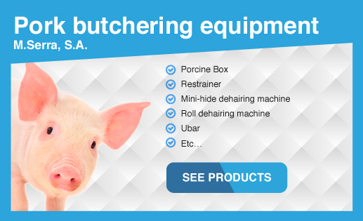 Pork butchering equipment