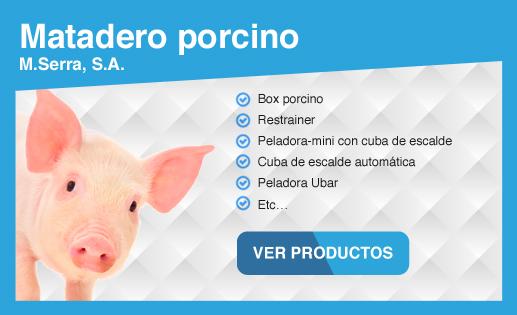 Maquinaria para matadero porcino