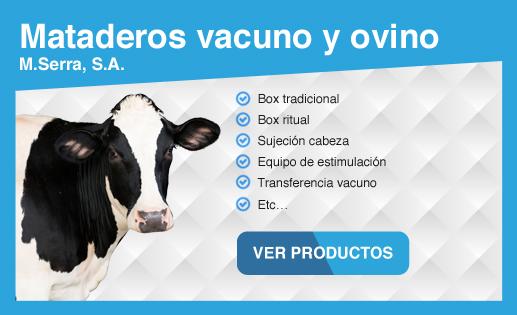 Maquinaria para matadero vacuno y ovino