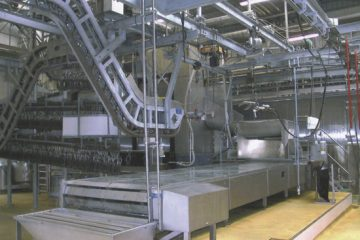 Different level conveyor
