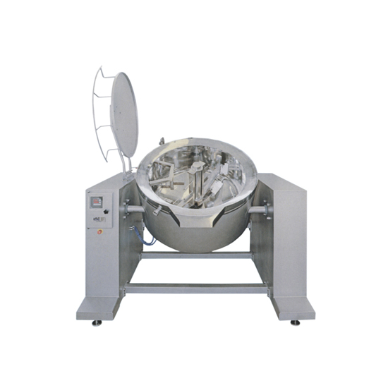 Fryer for pastes and sauces