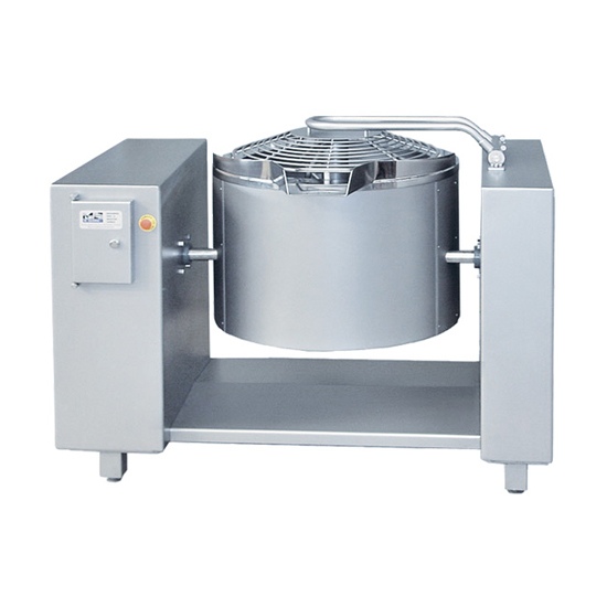 Deep fryer for pre-cooked dishes