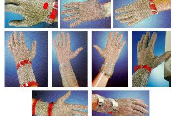 Mesh gloves