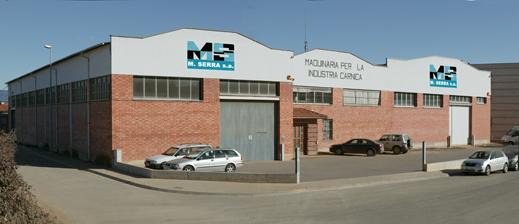 M Serra SA produits et de solutions proposés à l'industrie alimentaire